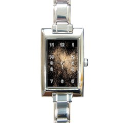 Fireworks Party July 4th Firework Rectangle Italian Charm Watch