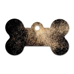 Fireworks Party July 4th Firework Dog Tag Bone (two Sides)