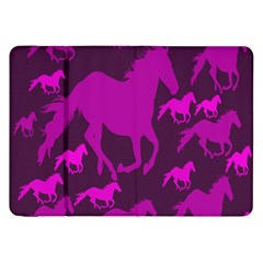 Pink Horses Horse Animals Pattern Colorful Colors Samsung Galaxy Tab 8 9  P7300 Flip Case