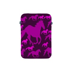 Pink Horses Horse Animals Pattern Colorful Colors Apple Ipad Mini Protective Soft Cases
