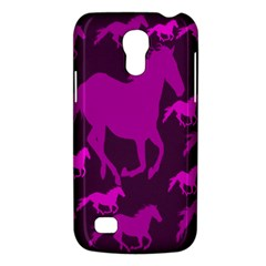 Pink Horses Horse Animals Pattern Colorful Colors Galaxy S4 Mini