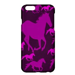 Pink Horses Horse Animals Pattern Colorful Colors Apple iPhone 6 Plus/6S Plus Hardshell Case
