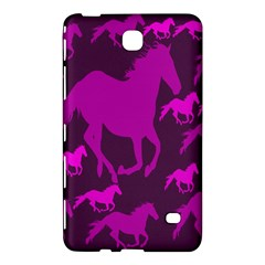 Pink Horses Horse Animals Pattern Colorful Colors Samsung Galaxy Tab 4 (8 ) Hardshell Case