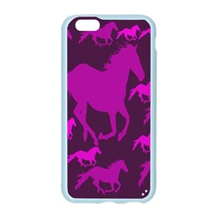Pink Horses Horse Animals Pattern Colorful Colors Apple Seamless iPhone 6/6S Case (Color)