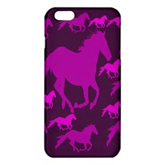 Pink Horses Horse Animals Pattern Colorful Colors iPhone 6 Plus/6S Plus TPU Case