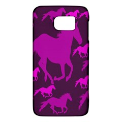 Pink Horses Horse Animals Pattern Colorful Colors Galaxy S6