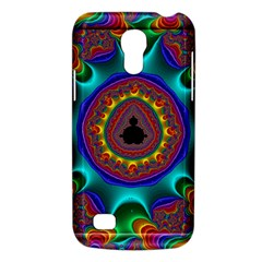 3d Glass Frame With Kaleidoscopic Color Fractal Imag Galaxy S4 Mini