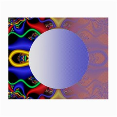 Texture Circle Fractal Frame Small Glasses Cloth (2 Side)