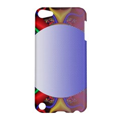 Texture Circle Fractal Frame Apple iPod Touch 5 Hardshell Case