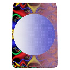 Texture Circle Fractal Frame Flap Covers (S)