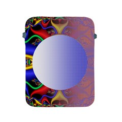 Texture Circle Fractal Frame Apple Ipad 2/3/4 Protective Soft Cases