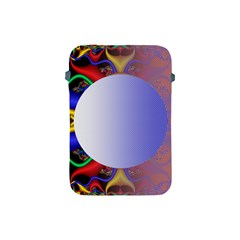 Texture Circle Fractal Frame Apple iPad Mini Protective Soft Cases