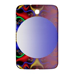 Texture Circle Fractal Frame Samsung Galaxy Note 8.0 N5100 Hardshell Case