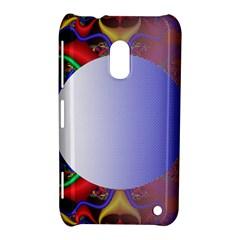 Texture Circle Fractal Frame Nokia Lumia 620