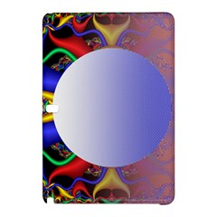 Texture Circle Fractal Frame Samsung Galaxy Tab Pro 10.1 Hardshell Case