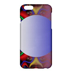 Texture Circle Fractal Frame Apple iPhone 6 Plus/6S Plus Hardshell Case