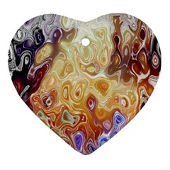 Space Abstraction Background Digital Computer Graphic Ornament (heart)