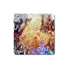 Space Abstraction Background Digital Computer Graphic Square Magnet