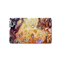 Space Abstraction Background Digital Computer Graphic Magnet (name Card)