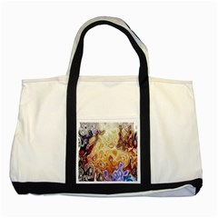 Space Abstraction Background Digital Computer Graphic Two Tone Tote Bag