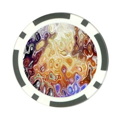 Space Abstraction Background Digital Computer Graphic Poker Chip Card Guard