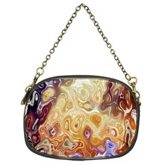 Space Abstraction Background Digital Computer Graphic Chain Purses (two Sides)