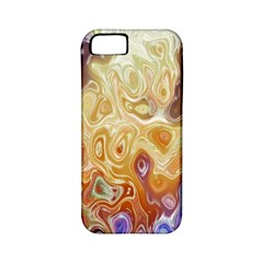 Space Abstraction Background Digital Computer Graphic Apple Iphone 5 Classic Hardshell Case (pc+silicone)