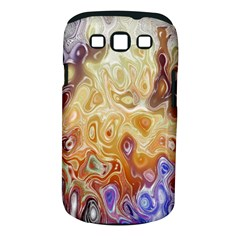 Space Abstraction Background Digital Computer Graphic Samsung Galaxy S Iii Classic Hardshell Case (pc+silicone)