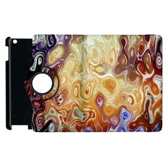 Space Abstraction Background Digital Computer Graphic Apple iPad 3/4 Flip 360 Case