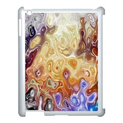 Space Abstraction Background Digital Computer Graphic Apple iPad 3/4 Case (White)