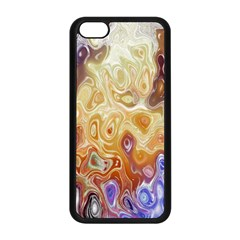 Space Abstraction Background Digital Computer Graphic Apple iPhone 5C Seamless Case (Black)