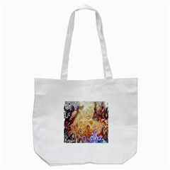 Space Abstraction Background Digital Computer Graphic Tote Bag (White)