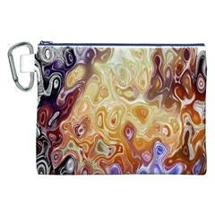 Space Abstraction Background Digital Computer Graphic Canvas Cosmetic Bag (xxl)