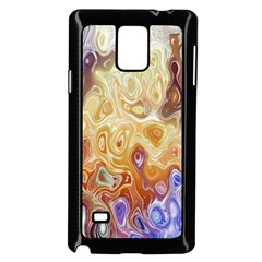 Space Abstraction Background Digital Computer Graphic Samsung Galaxy Note 4 Case (Black)