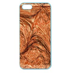 3d Glass Frame With Fractal Background Apple Seamless iPhone 5 Case (Color)