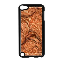 3d Glass Frame With Fractal Background Apple iPod Touch 5 Case (Black)