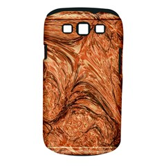 3d Glass Frame With Fractal Background Samsung Galaxy S Iii Classic Hardshell Case (pc+silicone)
