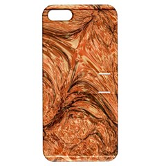 3d Glass Frame With Fractal Background Apple iPhone 5 Hardshell Case with Stand