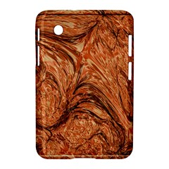 3d Glass Frame With Fractal Background Samsung Galaxy Tab 2 (7 ) P3100 Hardshell Case