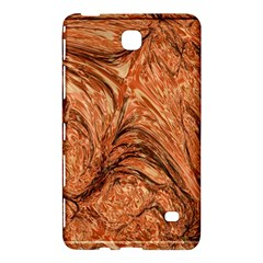 3d Glass Frame With Fractal Background Samsung Galaxy Tab 4 (8 ) Hardshell Case