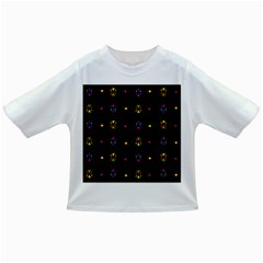Abstract A Colorful Modern Illustration Black Background Infant/Toddler T-Shirts