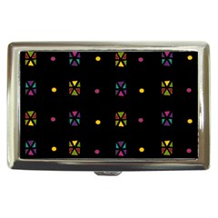 Abstract A Colorful Modern Illustration Black Background Cigarette Money Cases