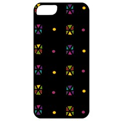 Abstract A Colorful Modern Illustration Black Background Apple Iphone 5 Classic Hardshell Case