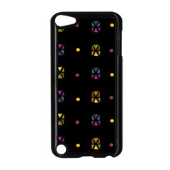 Abstract A Colorful Modern Illustration Black Background Apple iPod Touch 5 Case (Black)