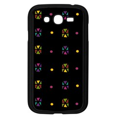 Abstract A Colorful Modern Illustration Black Background Samsung Galaxy Grand DUOS I9082 Case (Black)