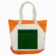Green Abstract A Colorful Modern Illustration Accent Tote Bag