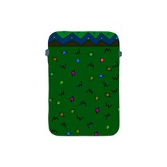 Green Abstract A Colorful Modern Illustration Apple Ipad Mini Protective Soft Cases