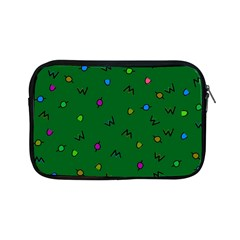 Green Abstract A Colorful Modern Illustration Apple iPad Mini Zipper Cases