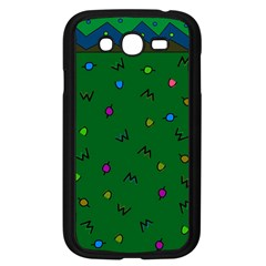 Green Abstract A Colorful Modern Illustration Samsung Galaxy Grand DUOS I9082 Case (Black)