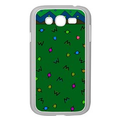 Green Abstract A Colorful Modern Illustration Samsung Galaxy Grand DUOS I9082 Case (White)